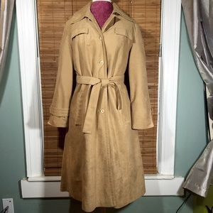 VNTG Union Made Tan Trench Coat